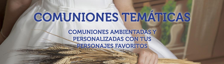 COMUNIONES TEMÁTICAS LA MARINA MÁLAGA